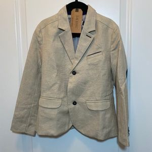 Jean Bourget Linen-Blend Suit Jacket